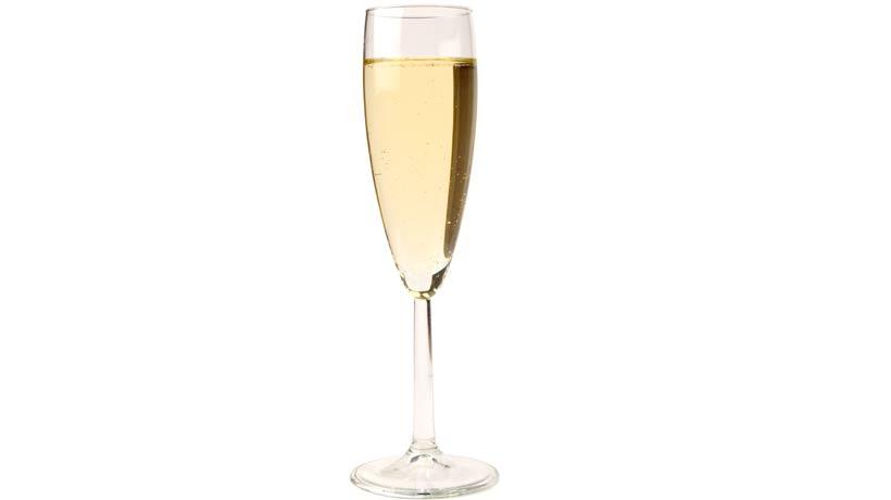 taça para vinho espumante