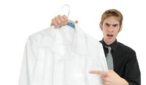 Dicas para remover manchas de gordura em roupas