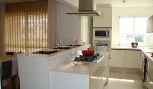 Cozinhas integradas - Deborah Roig