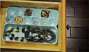 Organização, arte e decoração com caixas de ovos