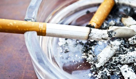 Evite que o cheiro de cigarro exale