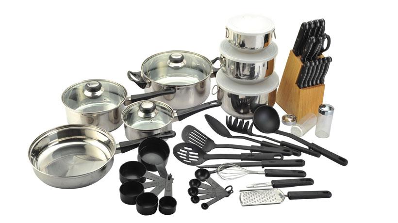 Utensílios domésticos para cozinha