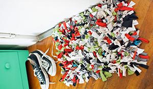 Como fazer um tapete de retalho passo a passo