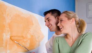 Saiba qual tipo de tinta usar em cada parte da casa