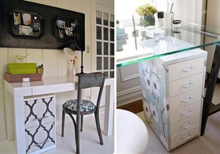 Fotos: 1 - apartmenttherapy.com; 2 - decorpad.com