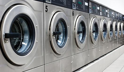 máquinas de lavar de inox
