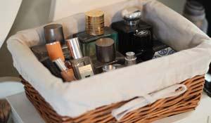 Ideias criativas para organizar perfumes