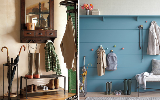 Entrada da casa pode facilitar organização