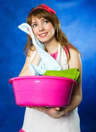 Balde para lavanderia
