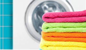 Como lavar toalha de banho e rosto