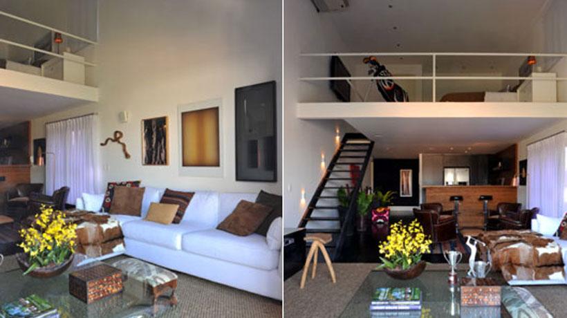 A elegância e praticidade do loft