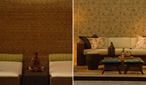Ambientes decorados com móveis de fibras