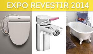 Expo Revestir 2014 apresenta tendências em acabamentos e metais