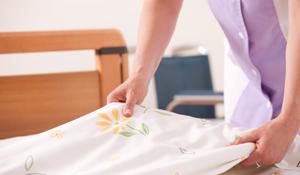 Como lavar a roupa de cama