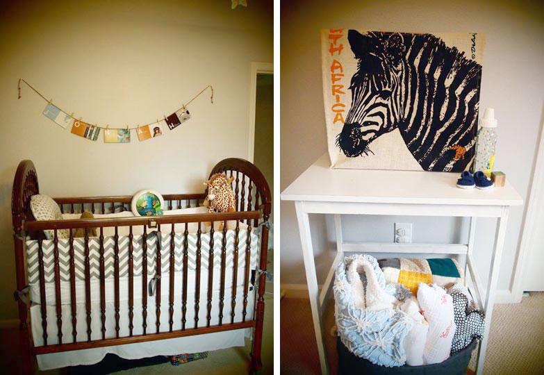 Quartos de bebê com tema safari
