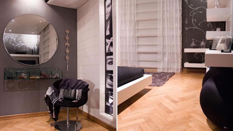 decoracao tudo branco:Decoração para quarto feminino em preto e branco – BBel :: Tudo