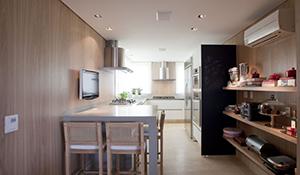 Como organizar cozinha sem armários