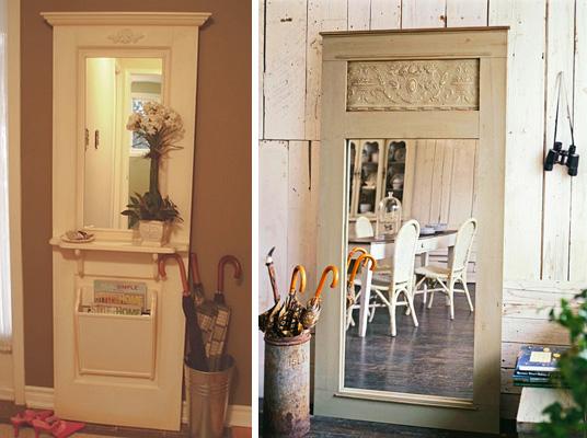 Como reutilizar portas velhas na decoração