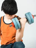 Musculação para crianças