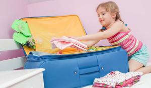 Como arrumar a mala de viagem das crianças