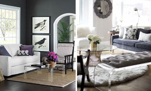 Fotos: 1 - apartmenttherapy.com; 2 - styledesignlife.blogspot.com.br