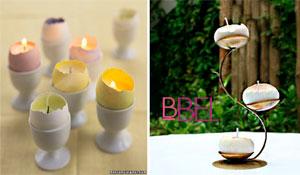 Como fazer uma velinha na casca de ovo